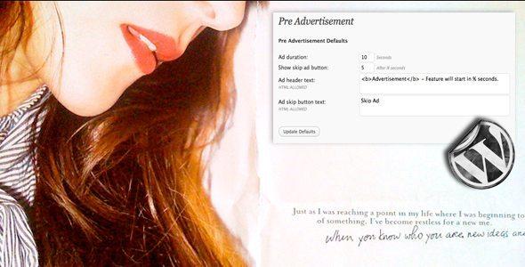 WP Pre Advertisement
