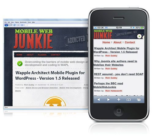 Wapple - Architect mobile plugin WordPress