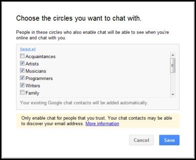 chat circles