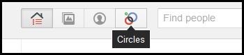 googleplus delete a circle