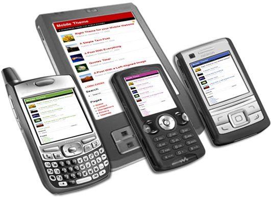 mobile theme WordPress