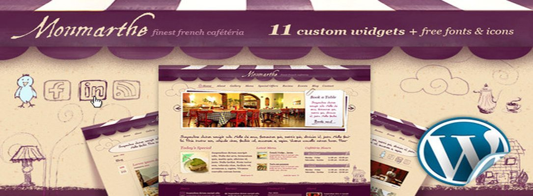 Monmarthe - Best Restaurant WordPress Theme