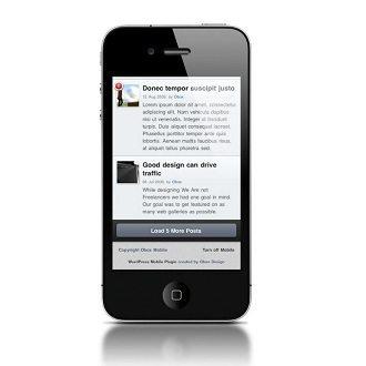 obox mobile WordPress framework