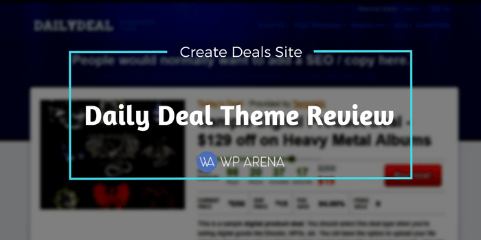 Daily Deal Theme Review
