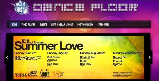 DanceFloor Theme