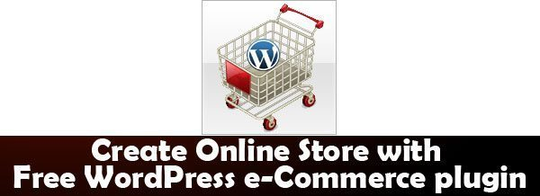Free WordPress e-Commerce plugin