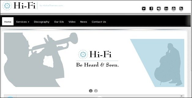 HifiMusic Theme