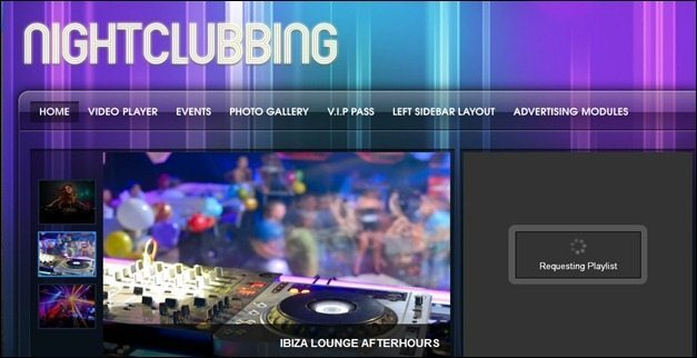 NightClubbing WP Theme
