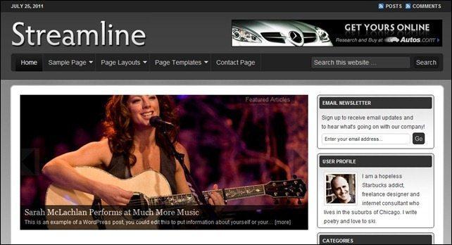 StreamlineMusicTheme