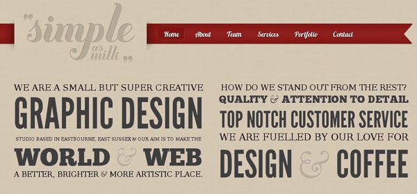 Creative Website Designs Powered by WordPress