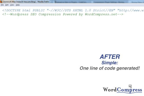 WordCompress after