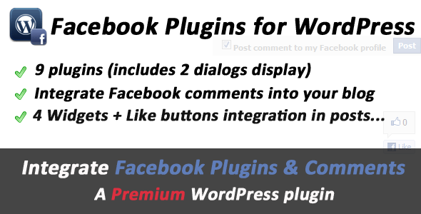 Facebook WordPress Plugins