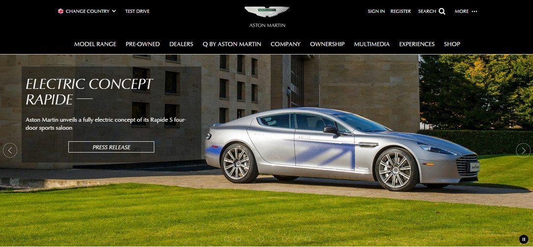 Astonmartin Car Dealership