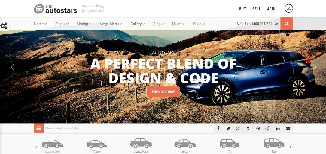 AutoStars - Car Dealership & Listings WordPress Theme