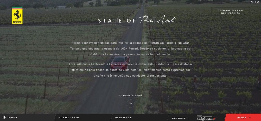 Ferrari Car Dealership