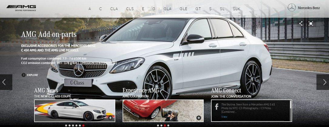 Mercedes AMG Car Dealership
