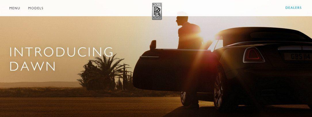 Rolls Royce Car Dealership