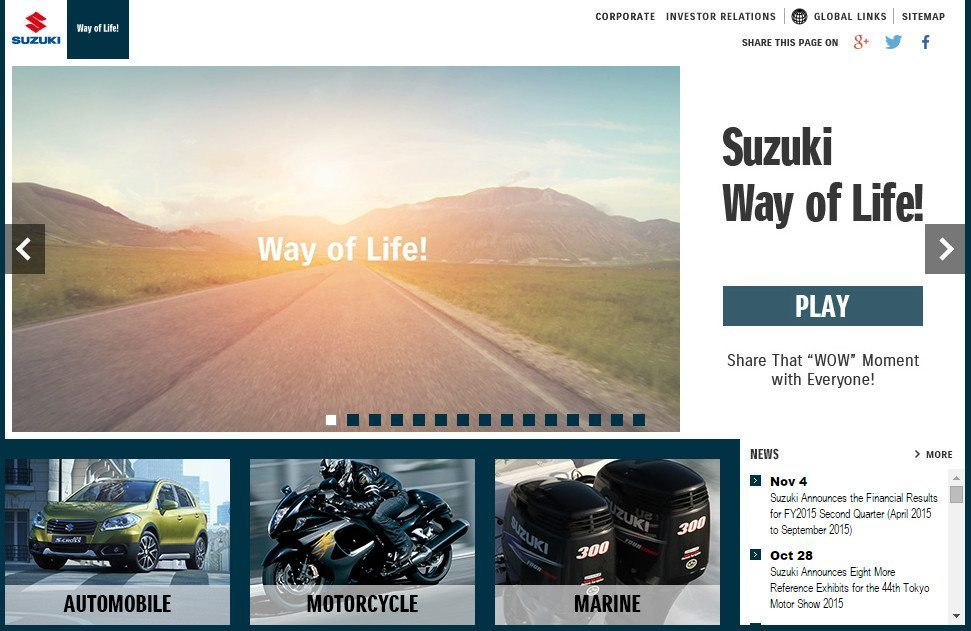 Suzuki Car Dealership