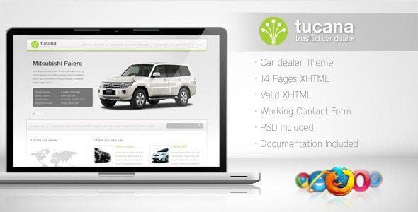 Tucana-Cars Dealer Template