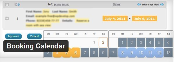 Booking Calender