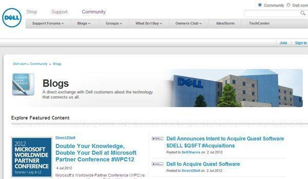 Dell Blog