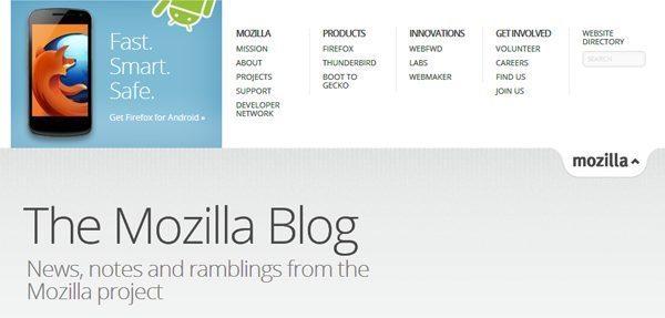 Mozilla Firefox blog