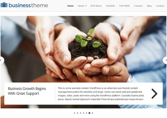 business theme organicthemes