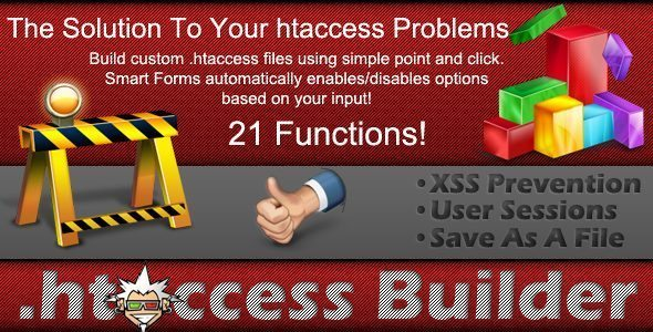 htaccess Builder