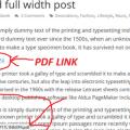 Linking To PDF