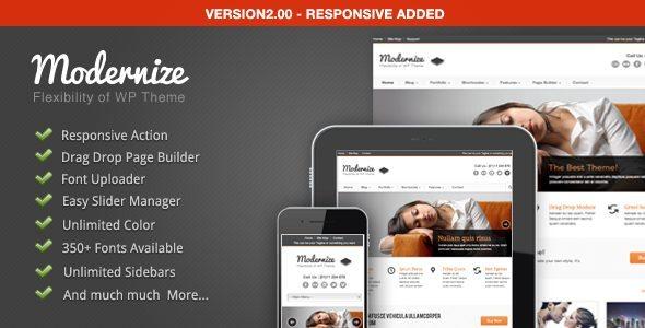 Modernize-Flexibility of WordPress