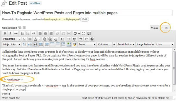 QuickPostPageWithMultiPages