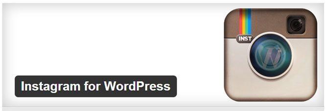 Instagram for WordPress