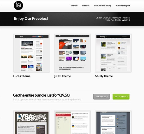 Bea WordPress Free and Premium Themes