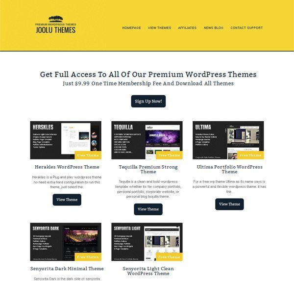Joolu Free and Premium WordPress Themes