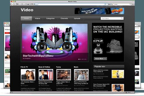 Free WordPress Themes Like Video Player Feb,2013