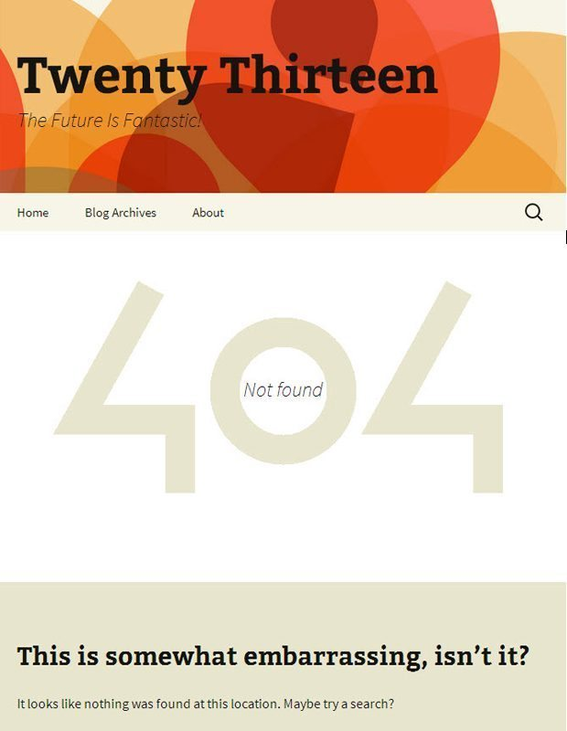 twentythirteen-WordPress-theme-404-page-not-found