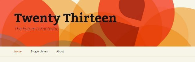 A Quick introduction To Twenty Thirteen WordPress Theme