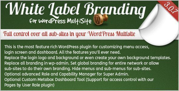 white-label-branding-wordpress plugin multisite