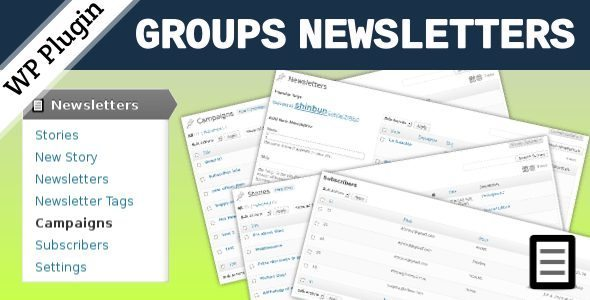 Groups-Newsletters