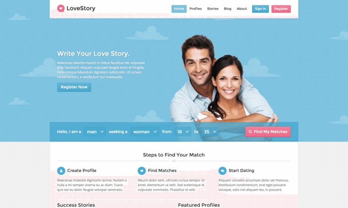 9+ Best WordPress Dating Themes & Plugins
