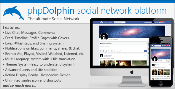 phpDolphin - Social Network Platform for WordPress Dating site