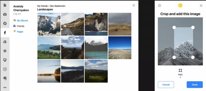 photoblog uploadcare