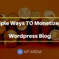 Monetize WordPress Blog