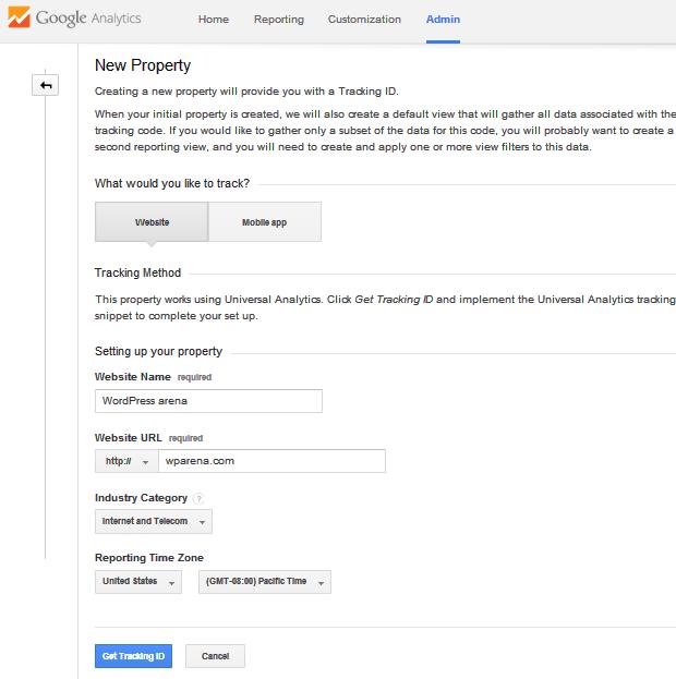 Google-Analytics-adding-new-property