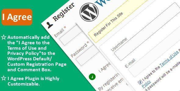 WordPress-Plugin-I Agree
