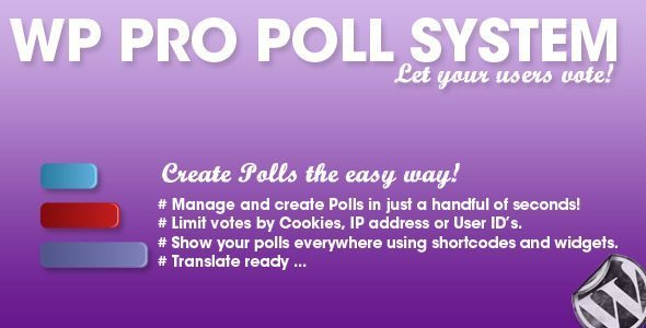 WordPress Pro Poll System
