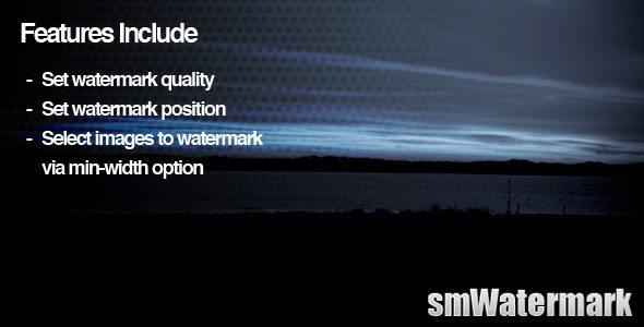 smWatermark WordPress Plugin