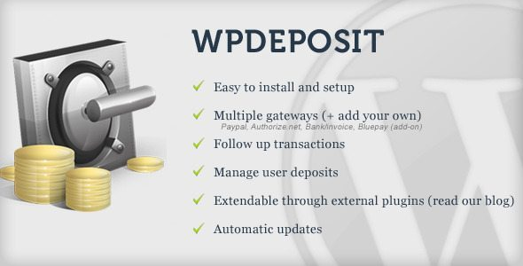 wpdeposit_WorPress Plugin