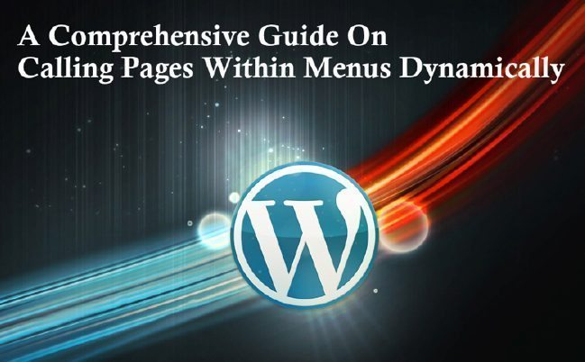 A Comprehensive Guide On Calling Pages Within Menus Dynamically