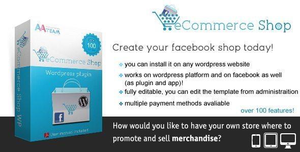 Facebook eCommerce Shop-Wordpress Plugin